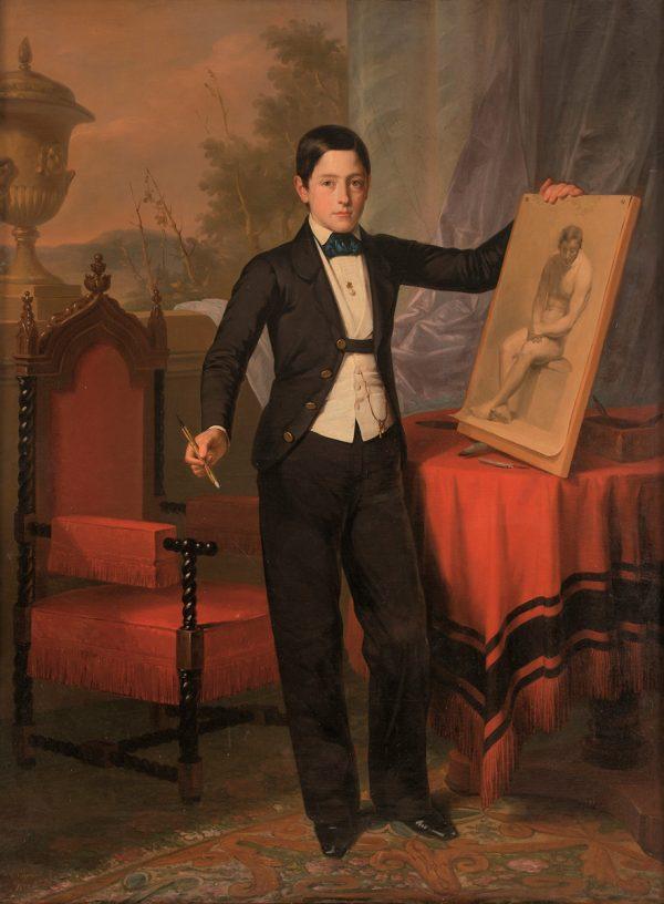 Retrato del hijo primogénito de Don Antonio Hompanera de Cos